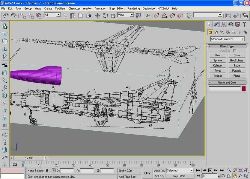 3D модель F-16 стр2